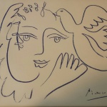 Een Picasso van Geert Jan Jansen. Foto: Evert-Jan Pol.