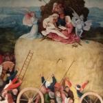 Jheronimus Bosch, Hooiwagentriptiek (detail), 1510-16, Museo Nacional del Prado. Foto: Evert-Jan Pol.