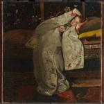 George Hendrik Breitner, Meisje in witte kimono, 1894, Rijksmuseum, Amsterdam.