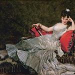 Charles Carolus-Duran, Portret van Julia Tahl, bekend als Mademoiselle Alice de Lancey, 1876, olieverf op doek, 152,5 x 211 cm, Petit Palais, musée des Beaux-Arts de la Ville de Paris, Parijs.