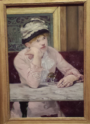 Édouard Manet (1832-1883), De pruim of Pruimenbrandewijn, 1878, olieverf op doek, National Gallery of Art, Washington. Foto: Evert-Jan Pol.