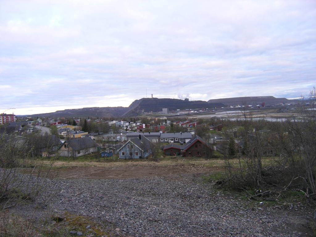 Kiruna, 15 juni 2012, 23.25 uur. Foto: Evert-Jan Pol.