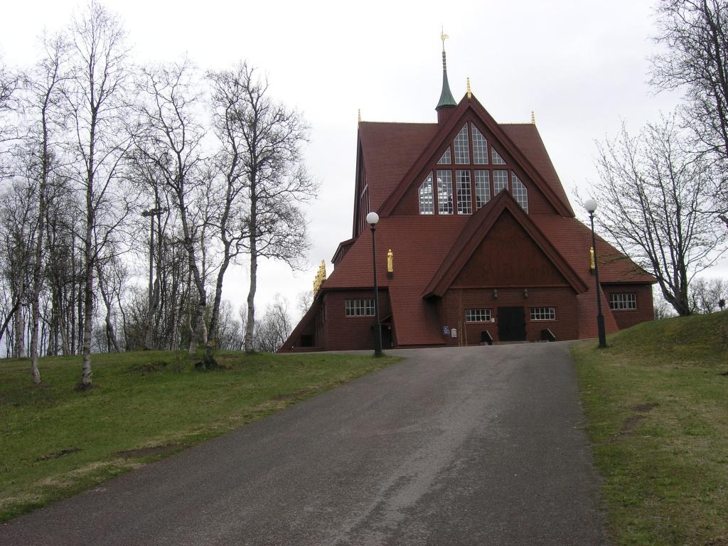 De kerk van Kiruna. Foto: Evert-Jan Pol.
