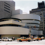 Het Guggenheim in New York, augustus 2000. Foto: Evert-Jan Pol.