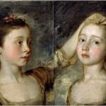 Thomas Gainsborough, De dochters van de kunstenaar, ca. 1758, olieverf op doek, Victoria and Albert Museum, Londen.