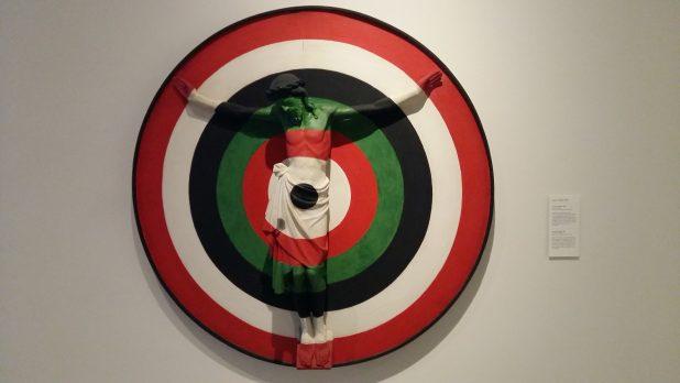 Jacques Frenken, Crucifix/Target, 1966, Museum voor Religieuze Kunst, Uden. Foto: Evert-Jan Pol.