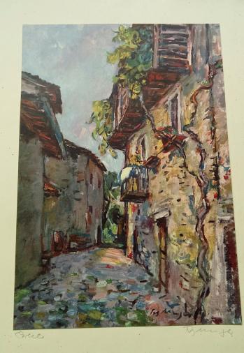 Fritz Meijer, Houses of Ticino.