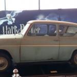 De vliegende Ford Anglia uit Harry Potter en de Geheime Kamer. Foto: Evert-Jan Pol.